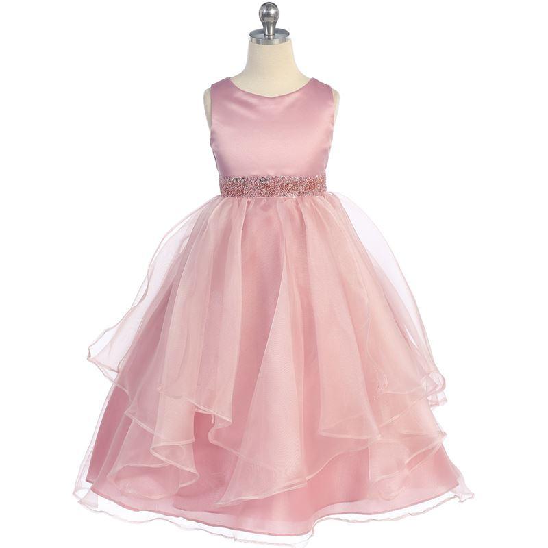 YELLOW Flower Girl Dress Birthday Gown Dance Graduation