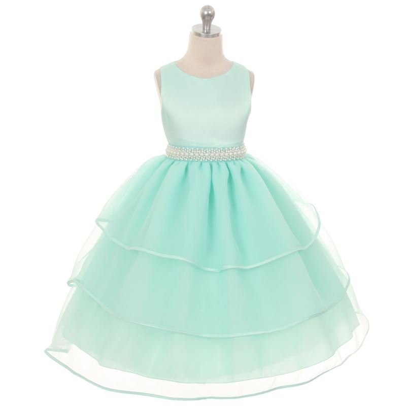 ROSE Flower Girl Dress Recital Wedding Party Birthday Pageant Homecoming Prom