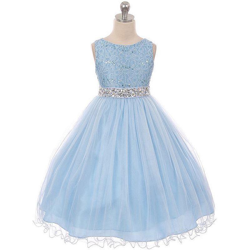 da311a2bf82 Details about BLUSH Flower Girl Dresses Birthday Wedding Bridesmaid Formal  Party Recital Prom